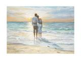 Seaside Sunset Posters par Karen Wallis