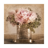 Heirloom Peony Poster von Julie Greenwood
