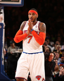 Mar 10, 2014, Philadephia 76ers vs New York Knicks - Carmelo Anthony Photographic Print by Nathaniel S. Butler