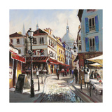 Café Stroll Prints by Brent Heighton