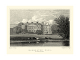 Markeaton Hall Premium Giclee Print by J.p. Neale