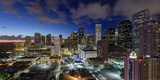 Downtown City Skyline, Houston, Texas, Usa Photographic Print by Gavin Hellier