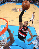 Jan 21, 2014, Portland Trailblazers vs Oklahoma City Thunder - LaMarcus Aldridge Photographic Print by Layne Murdoch