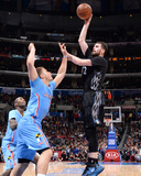 Dec 22, 2013, Minnesota Timberwolves vs Los Angeles Clippers - Kevin Love, Blake Griffin Photographic Print by Andrew Bernstein