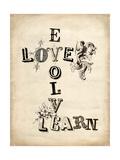 Vintage Inspiration Poster autor Morgan Yamada