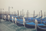 Italy, Veneto, Venezia District, Venice. Gondolas. Photographic Print by Francesco Iacobelli