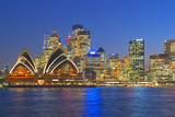 Opera House and Sydney Skyline, Sydney, New South Wales, Australia, Photographic Print by Marco Simoni