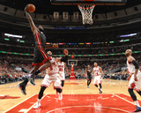 Mar 9, 2014, Miami Heat vs Chicago Bulls - LeBron James Photographic Print by Nathaniel S. Butler