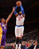 Jan 26, 2014, Los Angeles Lakers vs New York Knicks - Carmelo Anthony Photographic Print by Jesse D. Garrabrant