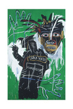 Self-portrait as a Heel Part Two Gicléetryck av Jean-Michel Basquiat