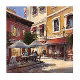 Café Break Lámina giclée por Brent Heighton