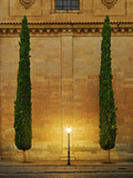 Spain, Salamanca, Iglesia San Benito at Night Photographic Print by Shaun Egan