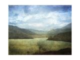 Azure Palisade Prints by Linda Hoey