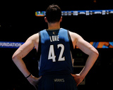 Mar 3, 2014, Minnesota Timberwolves vs Denver Nuggets - Kevin Love Photographic Print by Bart Young