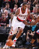 Jan 4, 2014, Philadelphia 76ers vs Portland Trail Blazers - LaMarcus Aldridge Photographic Print by Sam Forencich