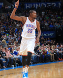 Dec 29, 2013, Houston Rockets vs Oklahoma City Thunder - Kevin Durant Photographic Print by Layne Murdoch