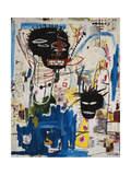 ISBN Reproduction procédé giclée par Jean-Michel Basquiat