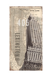 405 Lexington Prints by Evangeline Taylor