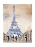 Paris Street 2 Poster af Madelaine Morris