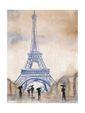 Paris Street 2 Poster by Madelaine Morris