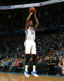 Feb 9 , 2014, New York Knicks vs Oklahoma City Thunder - Kevin Durant Photographic Print by Layne Murdoch