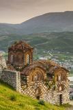 Albania, Berat, Kala Citadel, Church of the Holy Trinity Photographic Print by Walter Bibikow