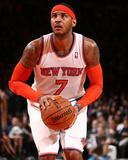 Mar 7, 2014, Utah Jazz vs New York Knicks - Carmelo Anthony Fotografisk tryk af Nathaniel S. Butler