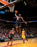 Jan 23, 2014, Los Angeles Lakers vs Miami Heat - LeBron James Photographic Print by Andrew Bernstein
