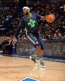 2014 NBA All-Star Game: Feb 16 - LeBron James Photographic Print by Andrew Bernstein