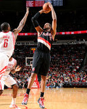 Mar 9, 2014, Portland Trail Blazers vs Houston Rockets - LaMarcus Aldridge Photographic Print by Bill Baptist