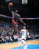 Feb 20, 2014, Miami Heat vs Oklahoma City Thunder - LeBron James Photo by Layne Murdoch