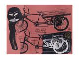 Tricycle Reproduction procédé giclée par Jean-Michel Basquiat