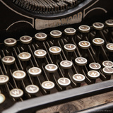 Old Typewriter Break Photographic Print by  Cazeba