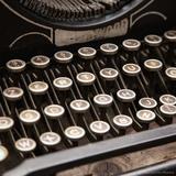 Old Typewriter Break Photographic Print by  Cazeba
