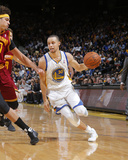 Mar 14, 2014, Clevseland Cavsaliers vs Golden State Warriors - Stephen Curry Photographic Print by Rocky Widner
