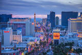 Alan Copson - Usa, Nevada, Las Vegas, the Strip - Fotografik Baskı