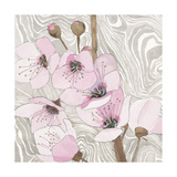 Pretty in Pink Blossoms 2 Giclee Print by Megan Swartz