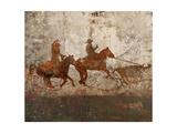 Cowboys 1 Giclee Print by Starlie Sokol-Hohne