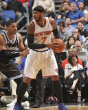 Feb 21, 2014, New York Knicks vs Orlando Magic - Carmelo Anthony Photographic Print by Fernando Medina
