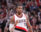 Dec 26, 2013, Los Angeles Clippers vs Portland Trail Blazers - LaMarcus Aldridge Photographic Print by Sam Forencich