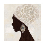 Fashion Global Silhouette 2 Giclee Print by Bella Dos Santos