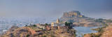 India, Rajasthan, Jodhpur, Jaswant Thada Temple and Mehrangarh Fort Photographic Print by Michele Falzone