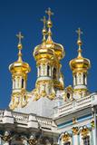Church of the Resurrection, the Catherine Palace, Pushkin (Tsarskoye Selo) Photographic Print by Nadia Isakova