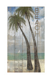 Beach Sign Giclee Print by Arnie Fisk