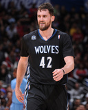 Dec 22, 2013, Minnesota Timberwolves vs Los Angeles Clippers - Kevin Love Photographic Print by Andrew Bernstein