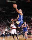 Mar 16, 2014, Golden State Warriors vs Portland Trail Blazers - Stephen Curry Photographic Print by Sam Forencich