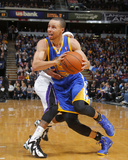 Feb 19, 2014, Golden State Warriors vs Sacramento Kings - Stephen Curry Photographic Print by Rocky Widner