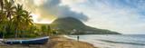 Caribbean, Martinique, Les Anse D'Arlet, Petite Anse, Sunsrise Photographic Print by Alan Copson