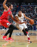 Feb 1, 2014, Chicago Bulls vs New Orleans Pelicans - Anthony Davis Photographic Print by Layne Murdoch