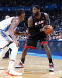 Feb 20, 2014, Miami Heat vs Oklahoma City Thunder - LeBron James Photographic Print by Layne Murdoch